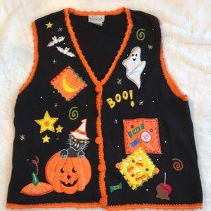 Basic addition XL Halloween 🎃 ghost 👻 vest